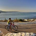 In bici sul molo