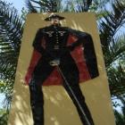 La statua in onore di Zorro