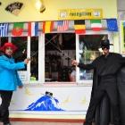 Zorro alla reception