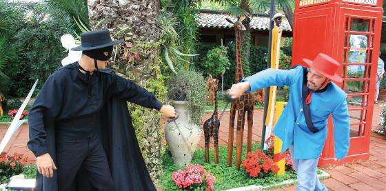 Zorro duella con Garcia